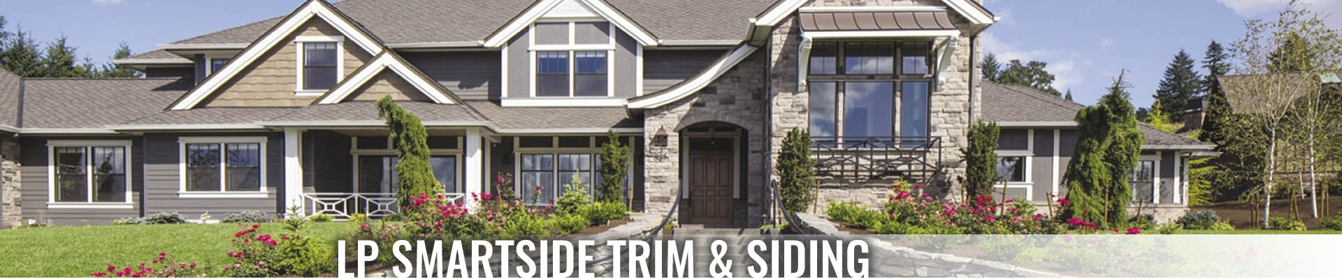 LP SmartSide siding - Turkstra Lumber supplier Designer Showcase - See touch feel!