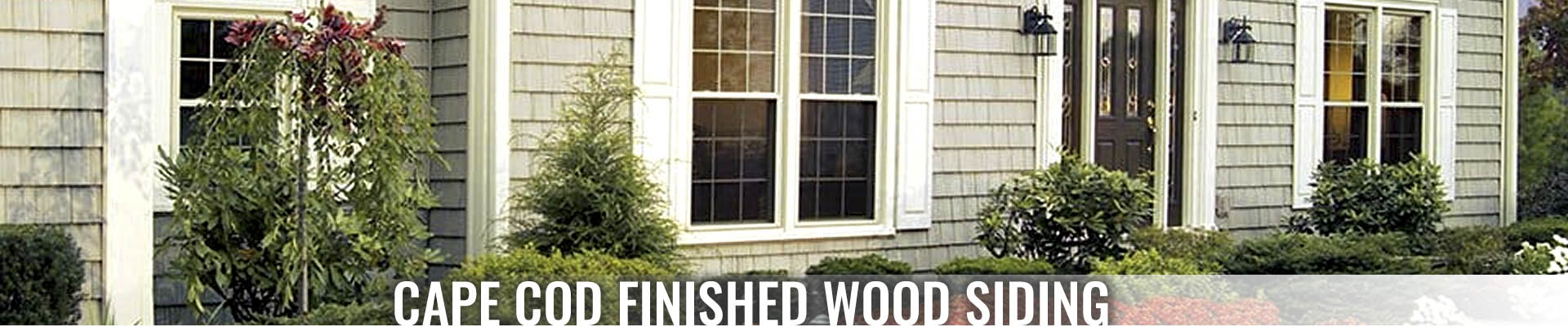 Cape Cod Finished Wood Siding - Designer Shingles, Types of Siding Products at Turkstra Lumber. Visit our Designer Showcase today!