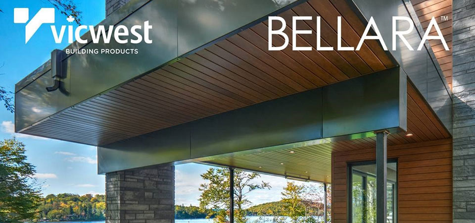 VicWest Steel - Bellara Siding at Turkstra Lumber-Designer Showcase (Windows, doors, trim, hardware, columns, decks). Visit one of 11 convenient locations across Southwestern Ontario.